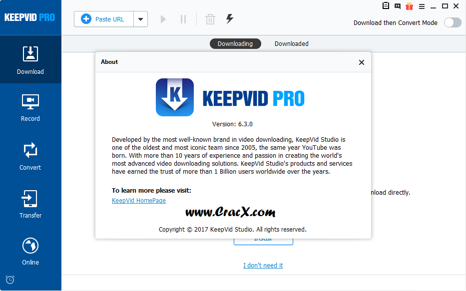KeepVid Pro 6.3.0.7 Patch + Serial Number Download