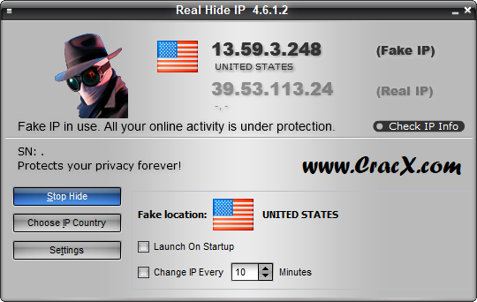 Real Hide IP 4.6.1.2 Full License Key & Patch Download