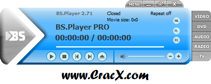 BS.Player PRO 2.71 Build 1081 Patch & Serial Key Download