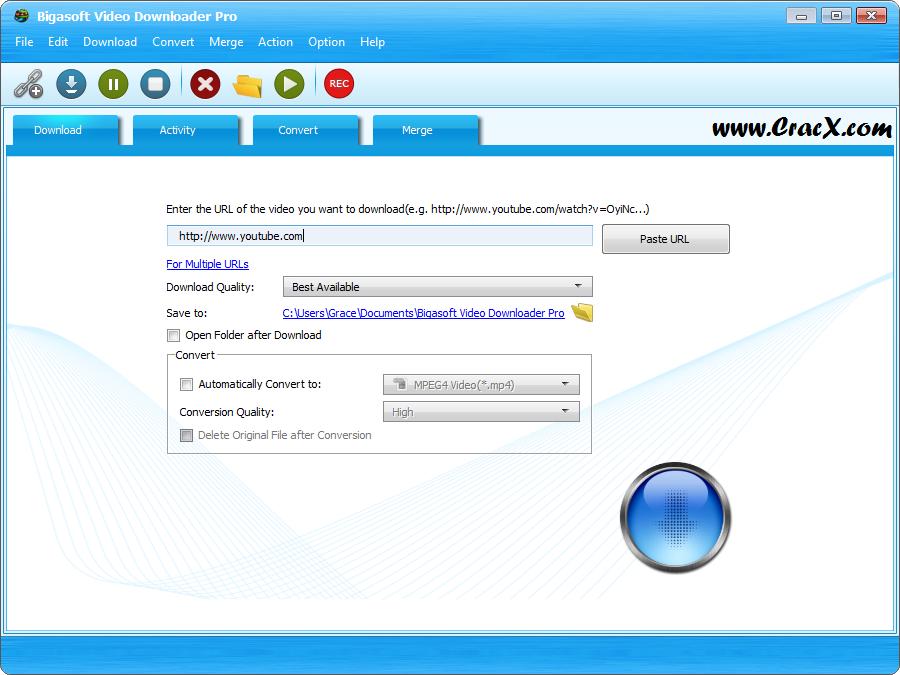 Bigasoft Video Downloader Pro 3.14.9.6448 + Crack Download