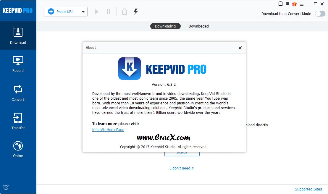 KeepVid Pro 6.3.2.0 Final Keygen & Activator Download