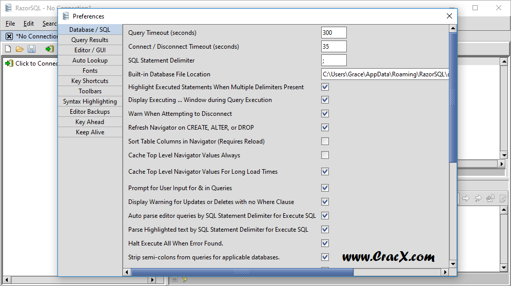 RazorSQL 7.3.2 Serial Keygen + Activator Final Download