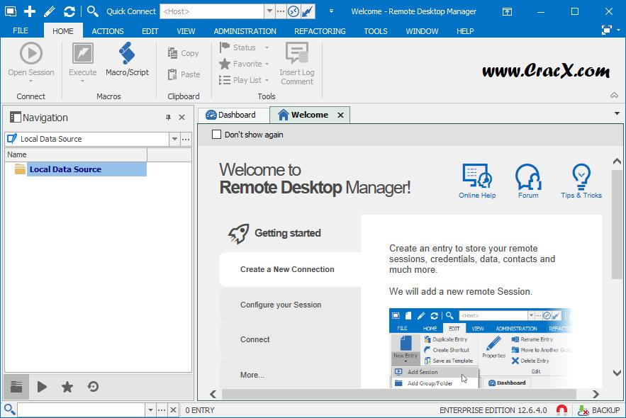 Remote Desktop Manager Enterprise 12.6.4.0 + License Key Download
