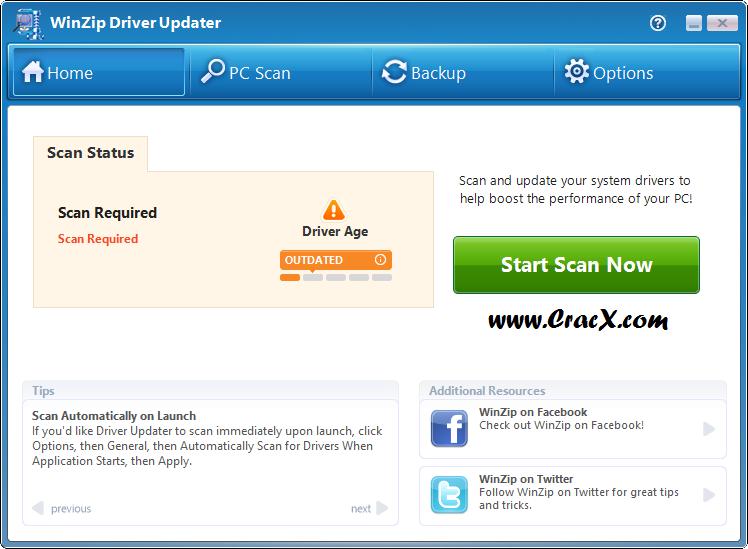 WinZip Driver Updater 5.18.0.12 Keygen & Crack Download
