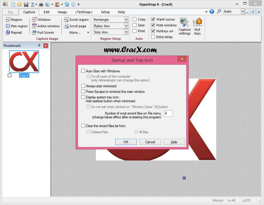 HyperSnap 8.13.05 Patch & Serial key Final Download
