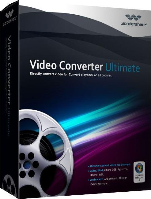 Wondershare Video Converter Ultimate 10.0.10.121 + Patch