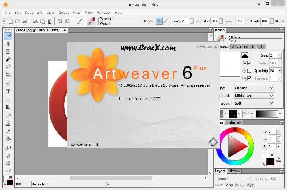 Artweaver Plus 6.0.6.14562 Keygen + Activator Download