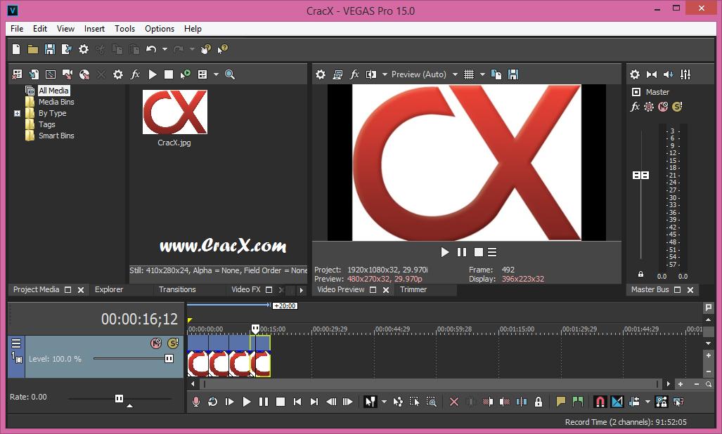 MAGIX VEGAS Pro 15.0.0.216 License Key + Patch Download