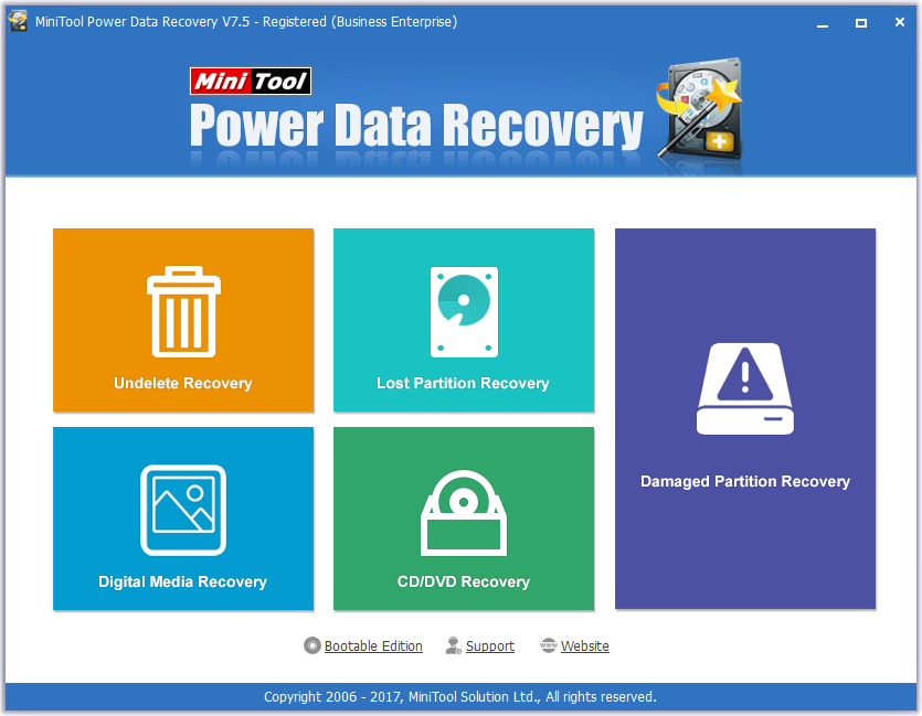 MiniTool Power Data Recovery 7.5 Serial Key + Crack Download