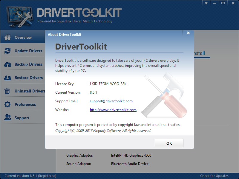 Driver Toolkit 8.5.1 Keygen + Activator [2017] Download