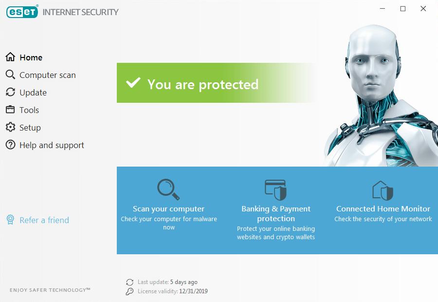 ESET Internet Security 2020 Premium Activation Keys Free Download