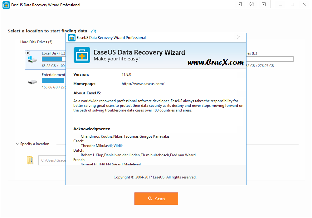 EaseUS Data Recovery Wizard 11.8.0 Full License Code & Crack