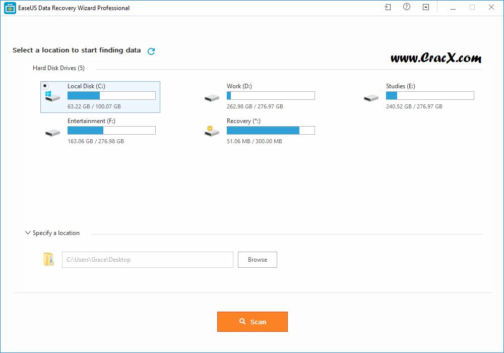 EaseUS Data Recovery Wizard 11.8.0 Patch & Keygen Download