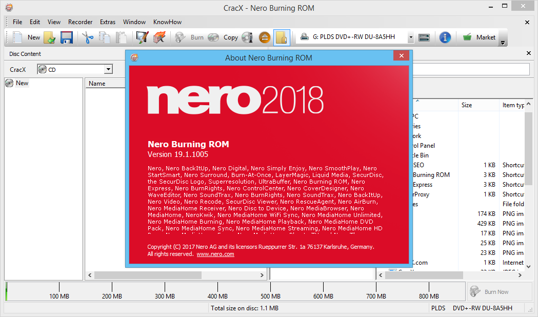 Nero Burning ROM 2018 Keygen & Activator Free Download