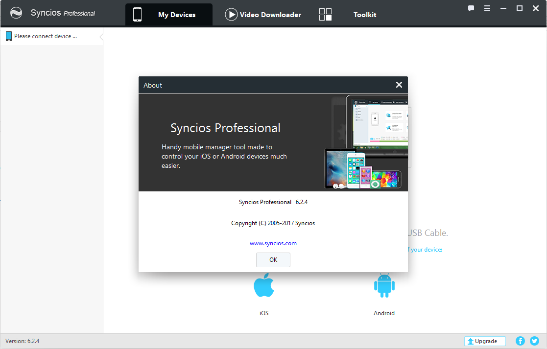 Syncios Manager Pro 6.2.4 Keygen & Activator Download