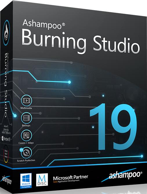 Ashampoo Burning Studio 19 {2018} Crack + Keygen Download