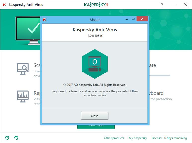 Kaspersky Antivirus 2018 Keygen & Activator Download