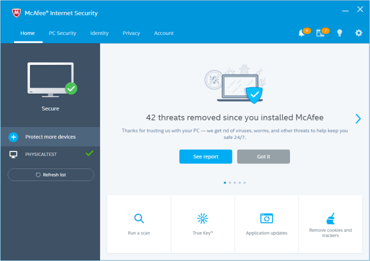 McAfee Internet Security 2017 Serial Key + Patch Download