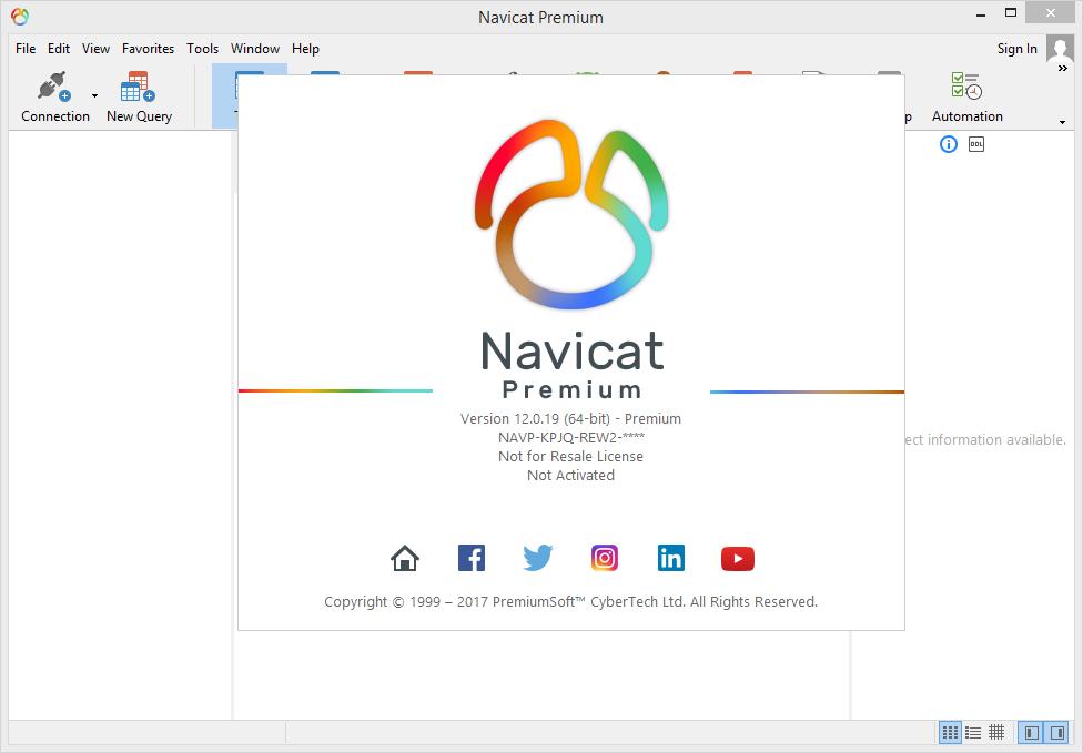 Navicat Premium 12.0.19 Full Keygen & Activator Download