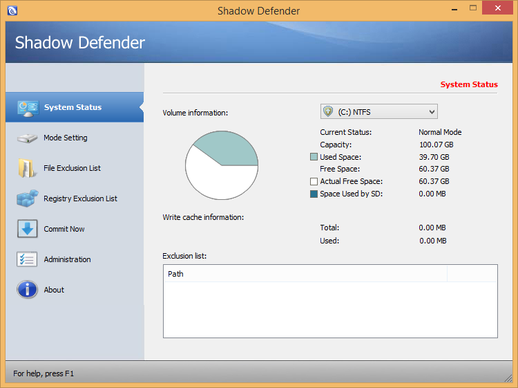 Shadow Defender 1.4.0.672 License Key + Patch Download