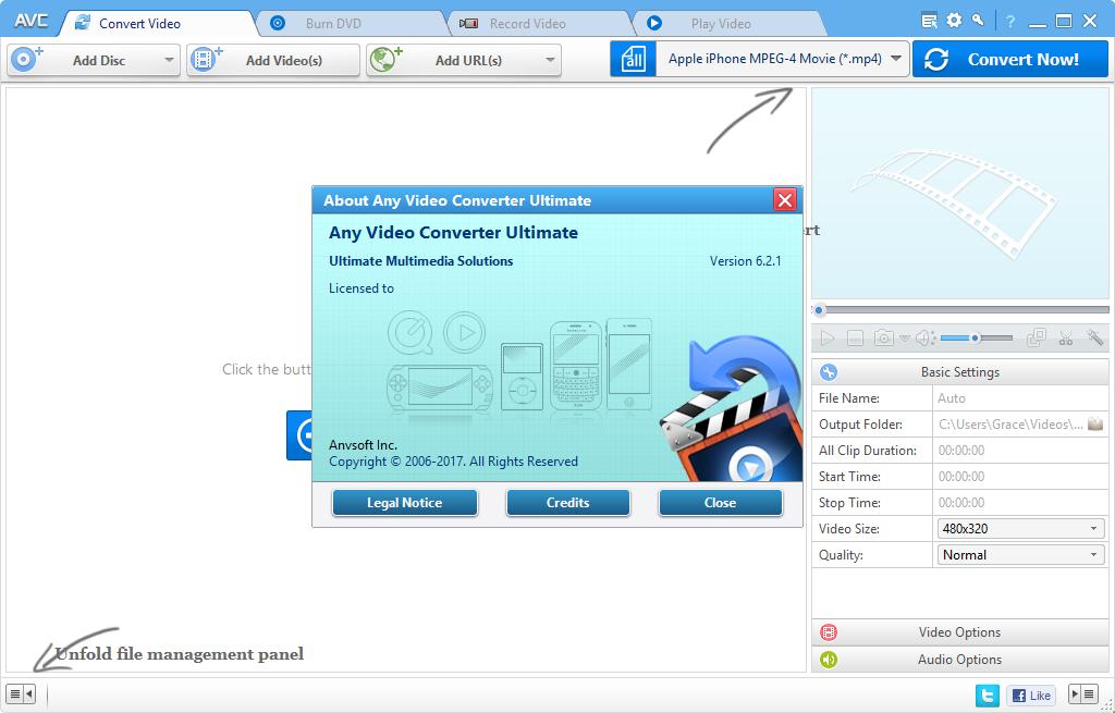 Any Video Converter Ultimate 6.2.1 Keygen & Activator Download