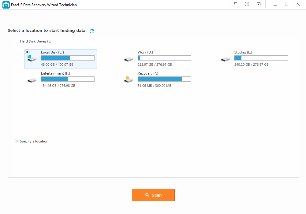 EaseUS Data Recovery Wizard 11.9.0 Crack + License Key Download