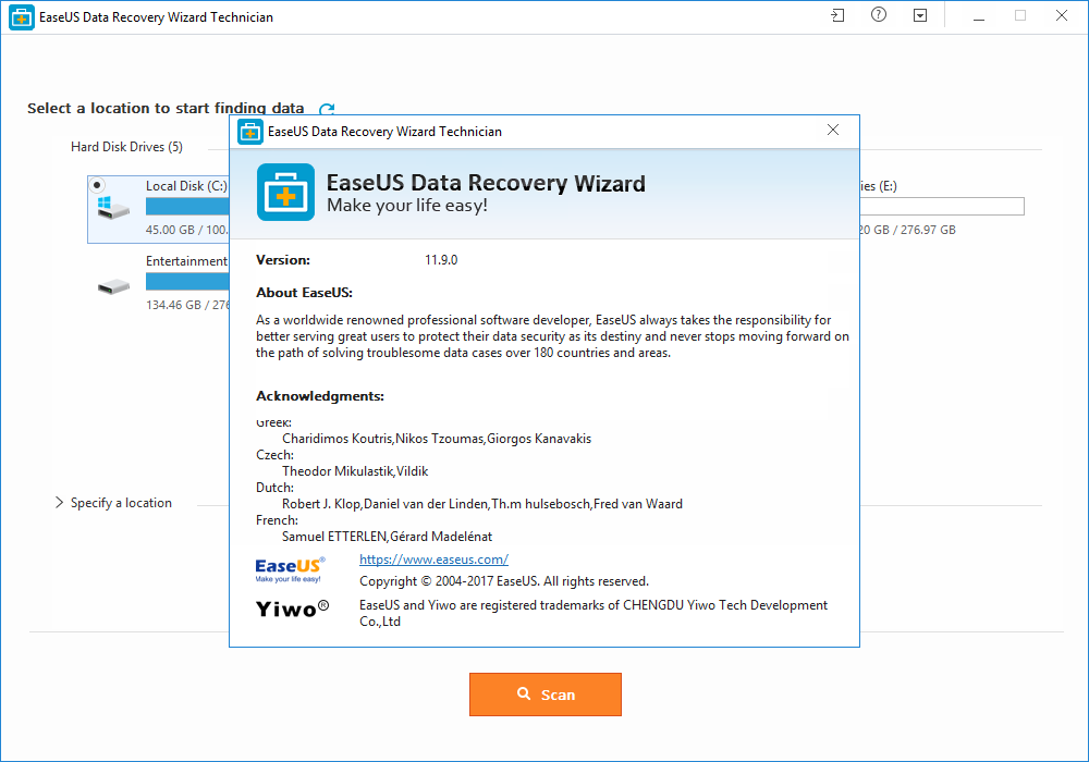 EaseUS Data Recovery Wizard 11.9.0 License Key + Patch Download