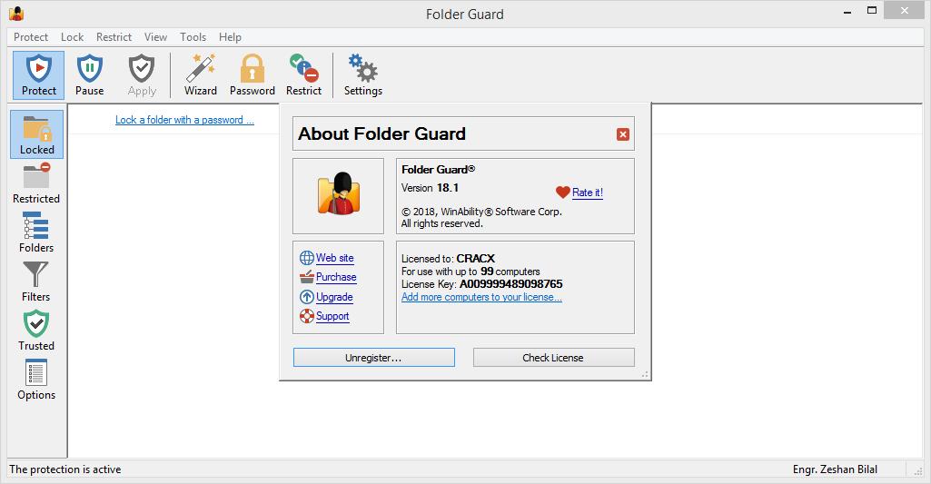 Folder Guard 18.1 Full Keygen & Activator Download