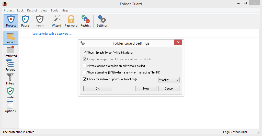 Folder Guard 18.1 Full Patch & Serial Key Download