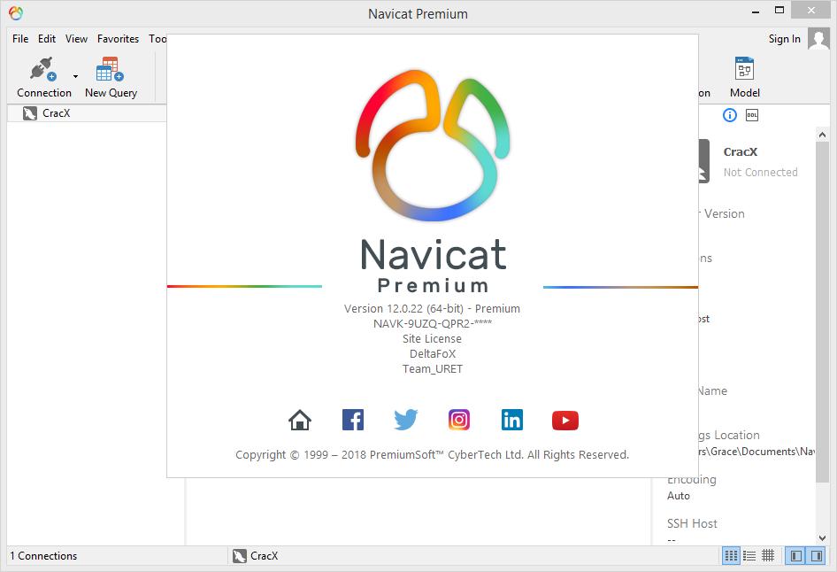 Navicat Premium 12.0.22 Keygen & Activator {2018} Download