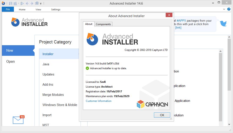 Advanced Installer Architect 14.6 Keygen & Activator Download