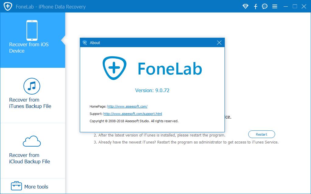 Aiseesoft FoneLab 9.0.72 Full Keygen & Activator Download