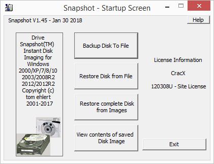 Drive SnapShot 1.45.0.17699 License Key & Patch Download