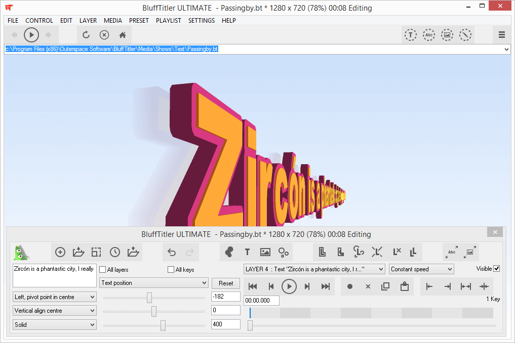 BluffTitler Ultimate 13.8.0.0 Full Serial Key + Patch Download