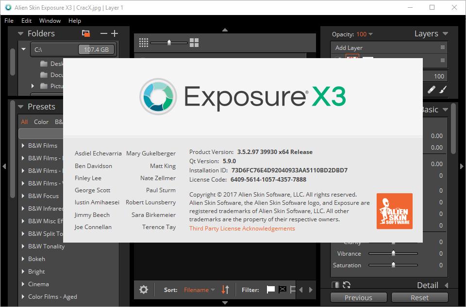 Alien Skin Exposure X3 Bundle 3.5.2.91 Keygen & Activator Download