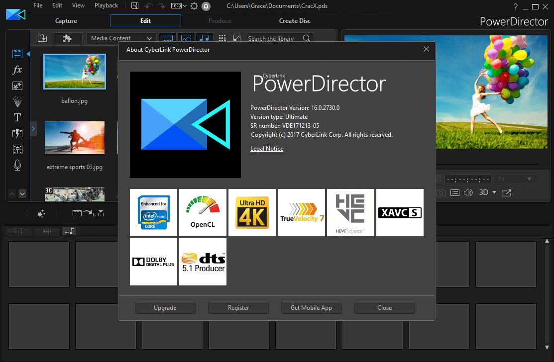 CyberLink PowerDirector Ultimate 16.0.2730.0 Full Keygen Download