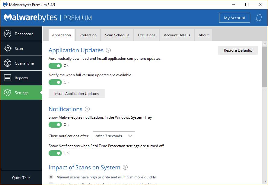 Malwarebytes Premium 3.4.5.2467 Patch & Serial Key Download