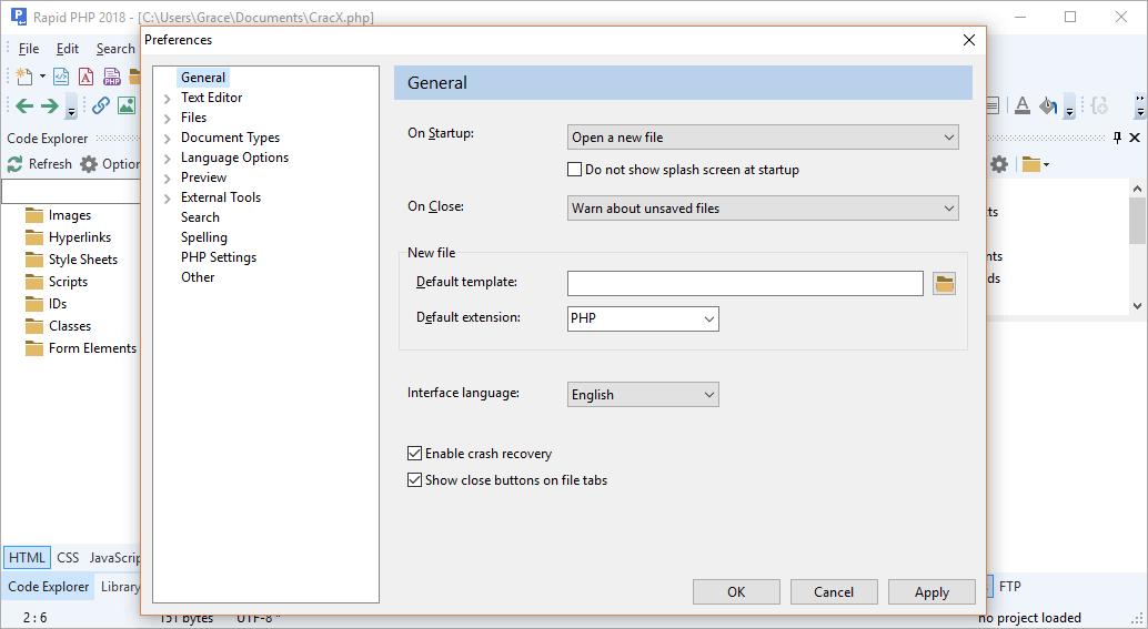 Rapid PHP 2018 15.0.0.199 Crack & License Key Download