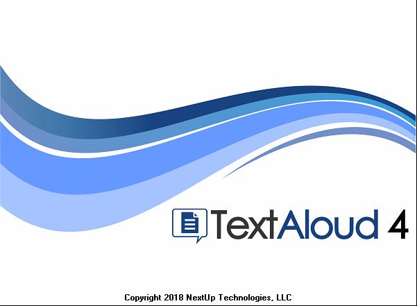 NextUp TextAloud 4.0.9 Full Crack & License Key Download