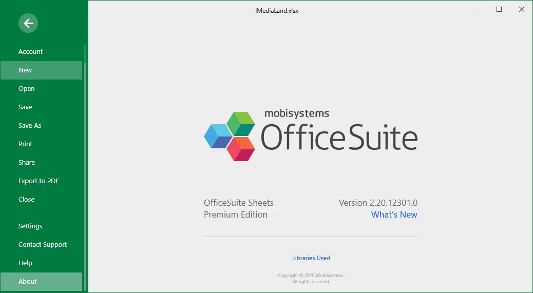 OfficeSuite Premium Edition 2.20.12301.0 Full Keygen Download
