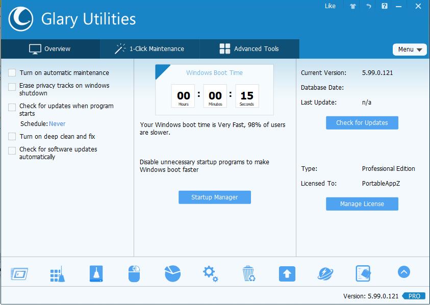 Glary Utilities PRO 5.99.0.121 Serial Key + Crack Download