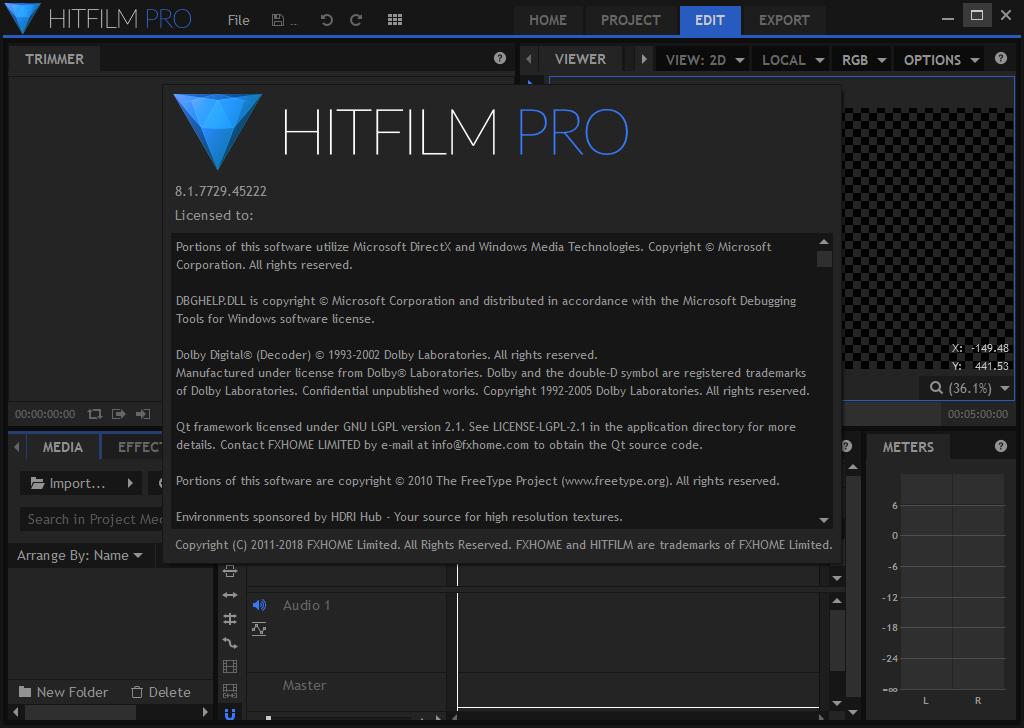 HitFilm Pro 8.1.7729.45222 Keygen & Activator Download