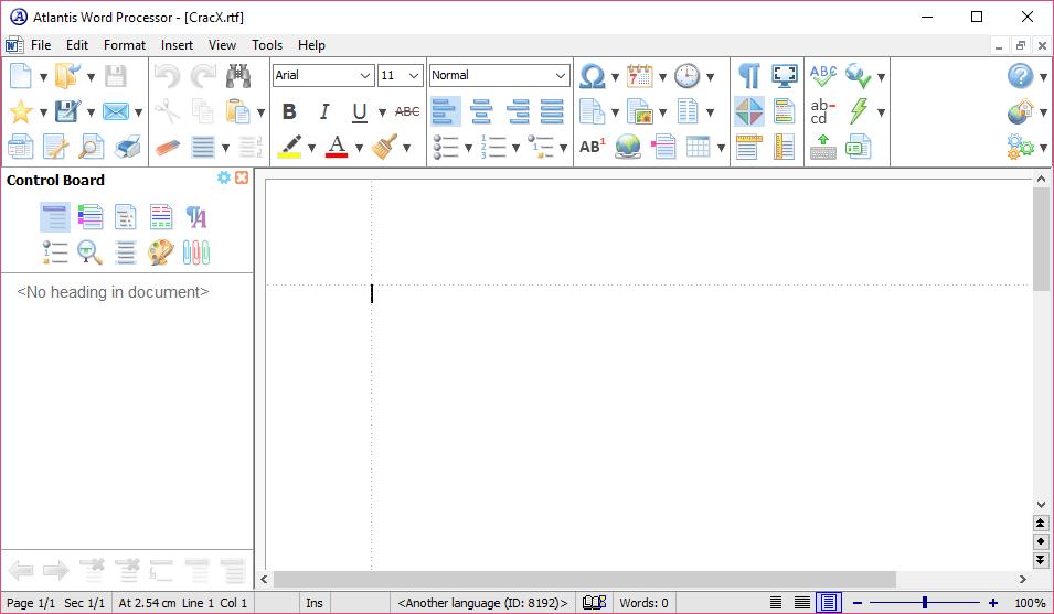 Atlantis Word Processor 3.2.5 License Key + Patch Download
