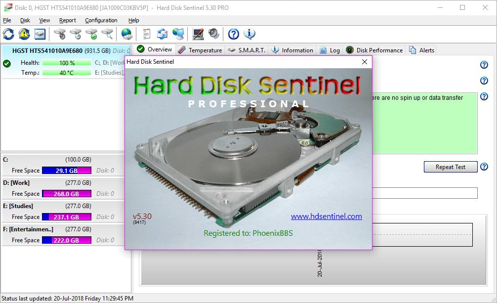 Hard Disk Sentinel Pro 5.30 Build 9417 Full Keygen Download