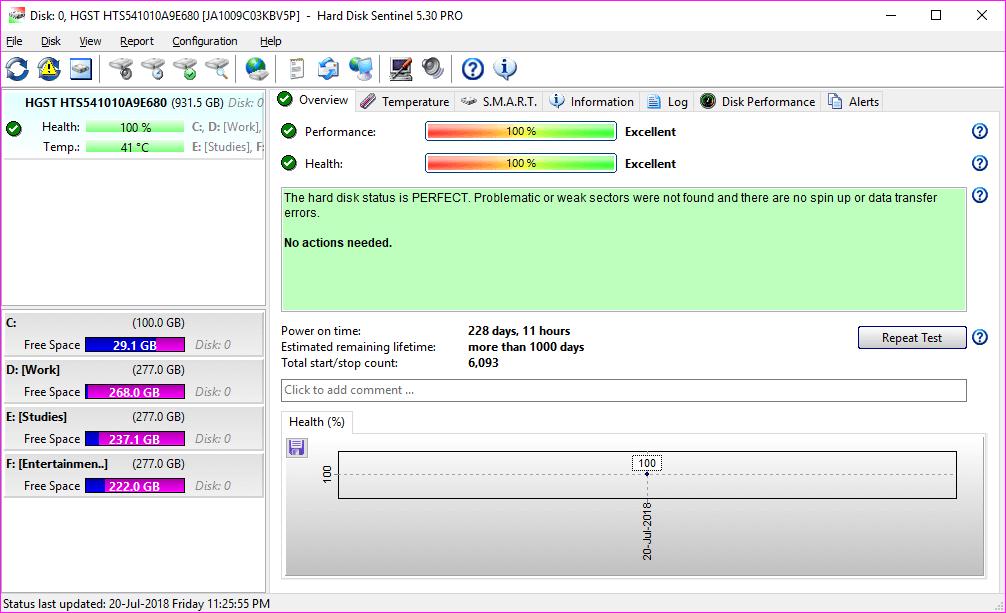 Hard Disk Sentinel Pro 5.30 Build 9417 Full Patch Download