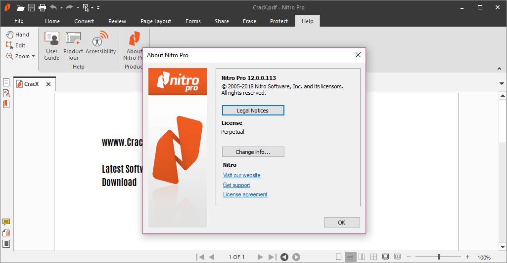 Nitro Pro Enterprise 12.0.0.113 Activator & Keygen Download
