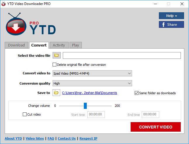 YTD Video Downloader Pro 5.9.10 Patch & License Key Download